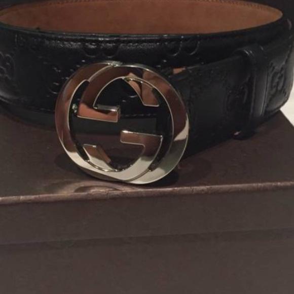 1bec8db1a Gucci Accessories   Black Rarely Used Belt   Poshmark